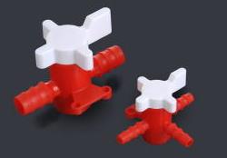 2方・3方ストップコック(PP+HDPE製)