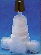 フッ素樹脂ニードルバルブI型 <PFA/PTFE>