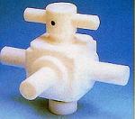 オールフッ素樹脂三方バルブ