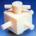 オールフッ素樹脂四方バルブ